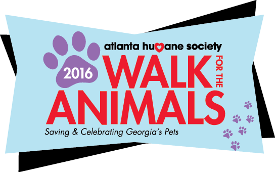 2016 Walk for the Animals of Atlanta with Us banner